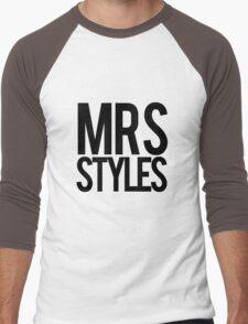 Mrs. Styles Men's Baseball ¾ T-Shirt