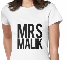 Mrs. Zayn Malik Womens Fitted T-Shirt