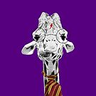 Harry Potter Giraffe Purple by PirateGiraffe