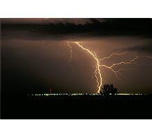 Super Bolt  lightening Photographic Print