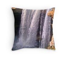 Noccalula Falls in Gadsden, AL USA #1 Throw Pillow