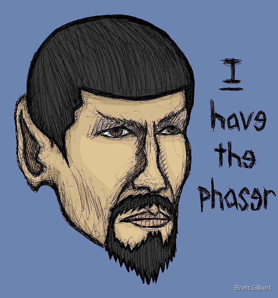 Evil Spock by Brett Gilbert