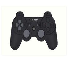 Playstation 3 Controller Art Print