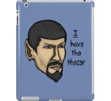 Evil Spock iPad Case/Skin