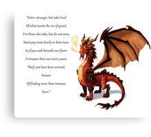 Harry Potter Gringotts Canvas Print