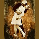 Romantic Sailor Kiss Art Painting apple iphone 5, iphone 4 4s, iPhone 3Gs, iPod Touch 4g case, Available for T-Shirt man and woman by Pointsale store.com