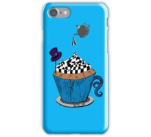 Alice In Wonderland Cupcake iPhone Case/Skin