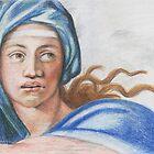 Study: Delphic Sybil by Aakheperure