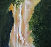 Waterfall Canyon by DavidKaz