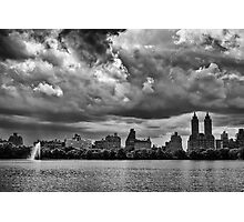Storm Clouds Over Central Park Photographic Print