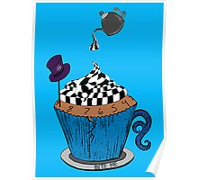 Alice In Wonderland Cupcake Poster