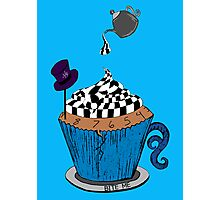 Alice In Wonderland Cupcake Photographic Print