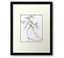 Pretty woman Framed Print