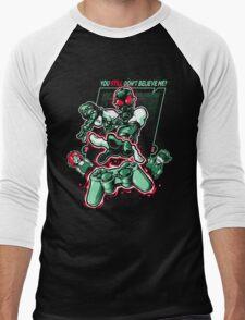 Psychokinetic Power! Men's Baseball ¾ T-Shirt
