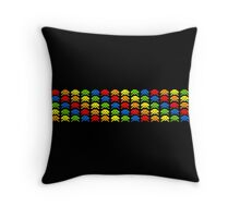 Alien Invader Throw Pillow