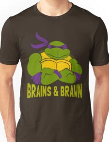 Brains & Brawn Unisex T-Shirt