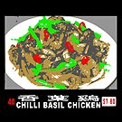 Chilli Basil Chicken by Bradley John Holland