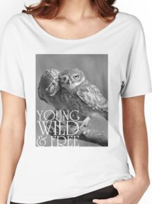 Young, Wild and Free Women's Relaxed Fit T-Shirt