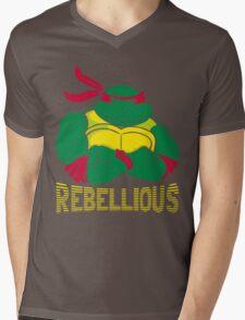 Rebellious Mens V-Neck T-Shirt