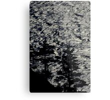 Low Key trees Metal Print