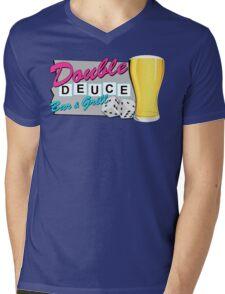 The Roadhouse! (Pink) Mens V-Neck T-Shirt