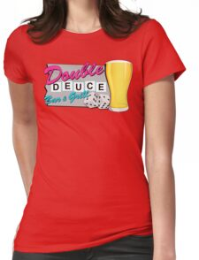 The Roadhouse! (Pink) Womens Fitted T-Shirt