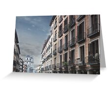 Calle Toledo, Madrid Greeting Card