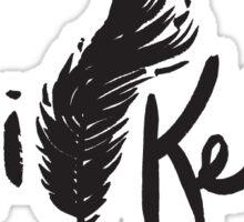 Tori Kelly feather logo Sticker