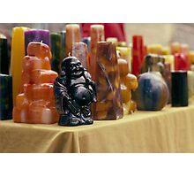Wax Budda Photographic Print