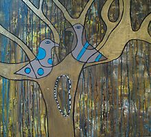 Love Birds by tracie worth
