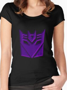 Decepticon Symbol Women's Fitted Scoop T-Shirt