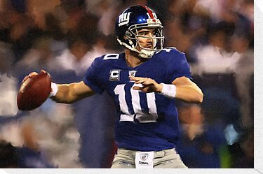 New York Giants Eli Manning by art-hammer