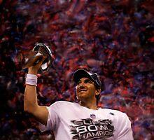 NY Giants NFL Super Bowl Eli Manning by art-hammer