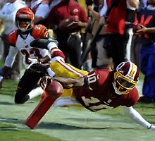 Washington Redskins Robert Griffin by art-hammer