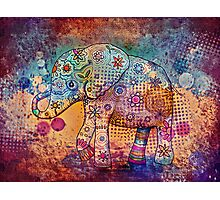 indie elephant Photographic Print