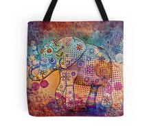 indie elephant Tote Bag