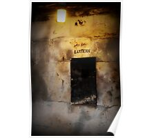 Battery Mishler lantern well Poster