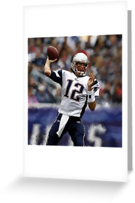 New England Patriots Tom Brady by art-hammer