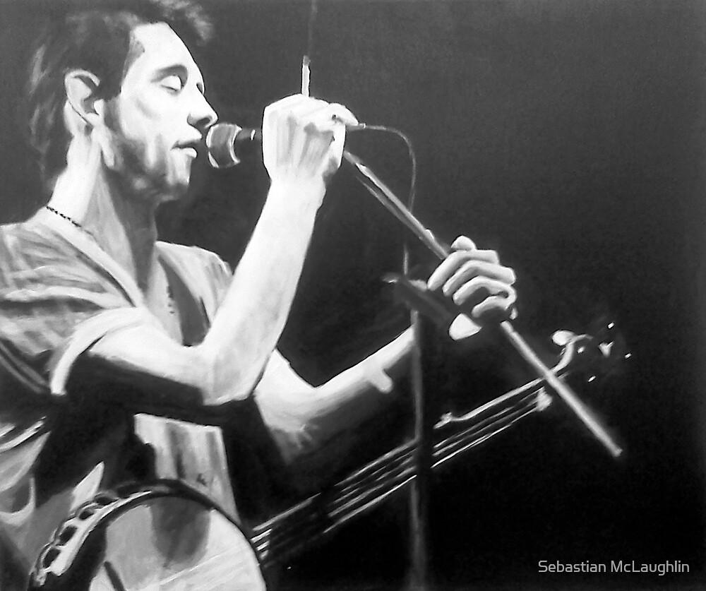 Shane MacGowan by Sebastian  McLaughlin