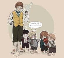 Wee Little Hobbitses by reapersun