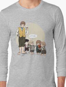 Wee Little Hobbitses Long Sleeve T-Shirt