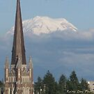 Mt. Rainier from Tacoma by Rainydayphotos