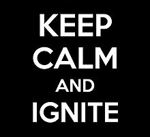 Keep Calm and Ignite by aizo