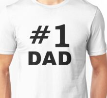 Number One Dad Unisex T-Shirt