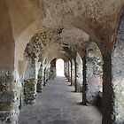 Ancient Colonade by Francis Drake