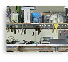 Man's Shed - Tools Metal Print