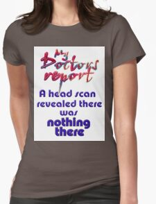 HEAD SCAN Womens Fitted T-Shirt