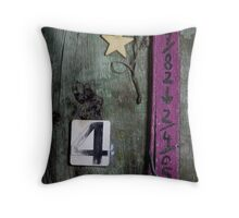 Roadside memorials #22 Throw Pillow