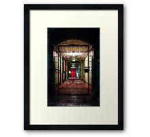 Doors of Despair Framed Print