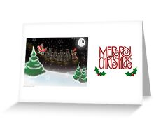 Rudolph the Red Eyed Reindalek Greeting Card